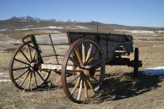 Vieux chariots de chariot Images libres de droits