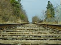 Vieux chemin de fer Photo stock