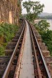 Vieux chemin de fer Images stock