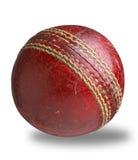 Vieux chemin utilisé utilisé de bille de cricket Image stock