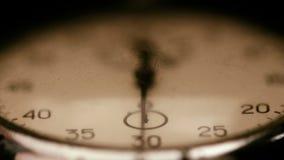 Vieux chronomètre banque de vidéos