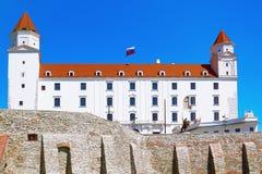 Vieux château blanc Photographie stock