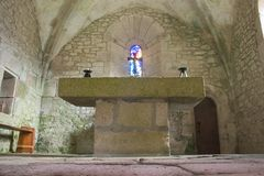 Vieux chuch gothique Image stock