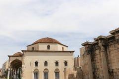 Vieux churche à Athènes, Grèce photographie stock libre de droits