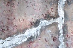 Vieux ciment de mur photo stock