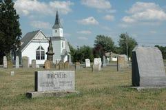 Vieux cimetière Image libre de droits