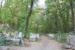 Vieux cimetière Images libres de droits