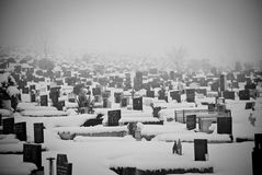 Vieux cimetière Images stock