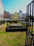 Vieux cimetière de famille Photos stock