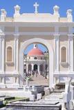 Vieux cimetière de San Juan Photographie stock