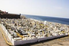 Vieux cimetière en San Juan Puerto Rico images stock