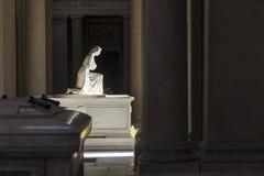 Vieux cimetière intérieur Image libre de droits
