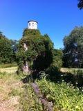 Vieux cimetière StPeterburg de Cript Nikolskoe Image libre de droits