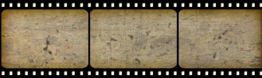Vieux cinématographie-film Image libre de droits
