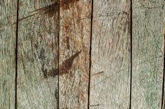 Vieux clair extérieur du bois Image stock