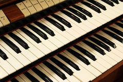 Vieux clavecin Photos stock