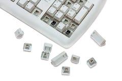 Vieux clavier Photo libre de droits