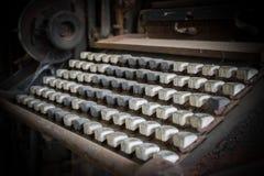 Vieux clavier Photographie stock libre de droits