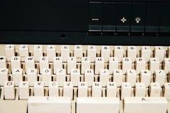 Vieux clavier d'ordinateur Photo stock