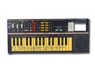 Vieux clavier de l'électronique Images libres de droits