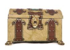 Vieux coffre de trésor Image stock
