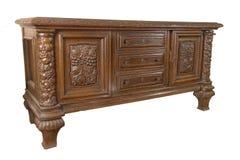 Vieux coffre des tiroirs allemand Image stock