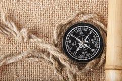 Vieux compas Image libre de droits