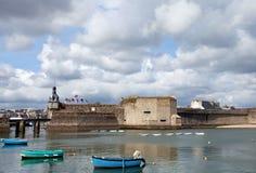 Vieux Concarneau Photo libre de droits