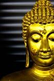 Vieux concentré de Bouddha Photographie stock