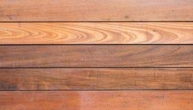 Vieux conseil en bois au fond de texture de mur Photographie stock libre de droits