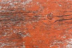 Vieux conseil en bois peint Photos libres de droits