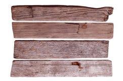 Vieux conseils en bois Images stock