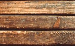 Vieux conseils en bois Photo libre de droits