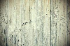 Vieux conseils en bois avec la peinture épluchant le fond Photos libres de droits