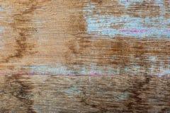 Vieux conseils en bois sur le mur photographie stock libre de droits