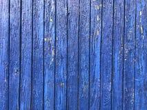 Vieux conseils et mur bleus et en bois Architecture, fond photo libre de droits