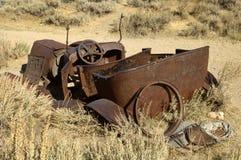 Vieux convertible rouillé 1 photo stock