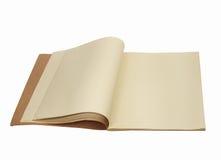 Vieux copybook photographie stock