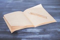 Vieux copybook photos stock