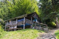 Vieux cottage Photographie stock