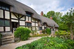 Vieux cottage anglais rural Image libre de droits