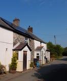 Vieux cottages en terrasse Image libre de droits