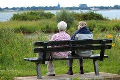 Vieux couples Photographie stock libre de droits