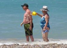 Vieux couples image libre de droits