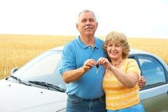 Vieux couples. Aînés Photos libres de droits