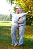 Vieux couples d'aînés images stock