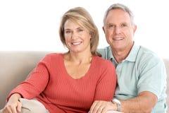 Vieux couples d'aînés image libre de droits