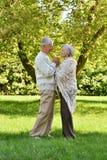 Vieux couples mignons Photographie stock