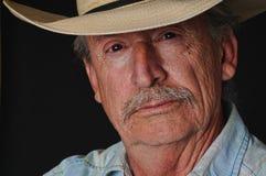 Vieux cowboy photographie stock libre de droits