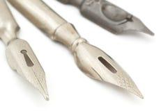 vieux crayon lecteur de fontaine Images stock